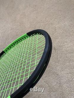 Wilson Blade Serena Willams SW 104 Autograph Countervail Tennis Racquet 4 3/8