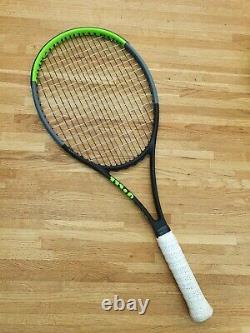 Wilson Blade v7 98s grip size 3 freshly strung