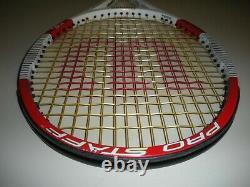 Wilson Blx Pro Staff 90 Tennis Racquet 4 1/2 (new 4g Strings) Federer 2014