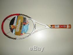 Wilson Blx Pro Staff Ninety 90 Tennis Racquet 4 1/4 Brand New 2012 Federer