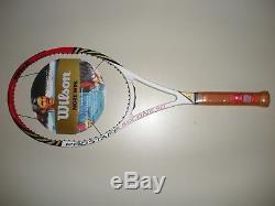 Wilson Blx Pro Staff Six. One 90 Tennis Racquet 4 3/8 Brand New Federer