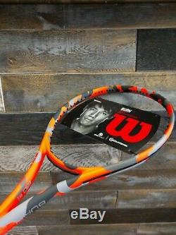 Wilson Burn 100S Countervail CAMO Limited Edition size 4 1/4 + FREE string