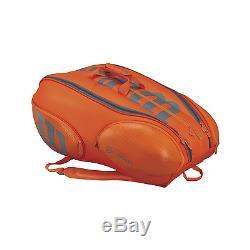 Wilson Burn 15 Pack Tennis Racket Bag (2017)