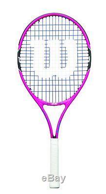 Wilson Burn Pink 25 Tennisschläger für Kinder