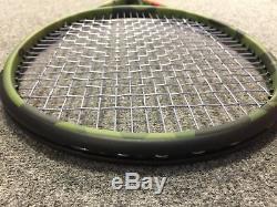 Wilson Camo Blade 98L 16x19 STRUNG 4 3/8 (Tennis Racket 10.1oz 285g Camoflauge)