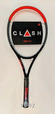 Wilson Clash 100 Pro 4 3/8 Tennis Racquet NEW
