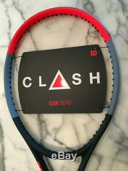 Wilson Clash 100 Pro (formerly Tour) Tennis Racquet, 4 3/8 grip, new, unstrung