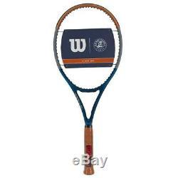 Wilson Clash 100 Roland Garros Tennis Racket Grip Size 4 3/8