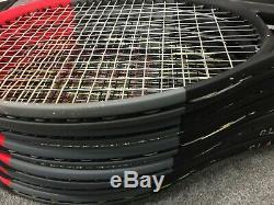 Wilson Clash 100 STRUNG 4 1/4 Tennis Racket Racquet 10.4oz 295g 16x19 free flex