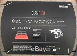 Wilson Clash 100 Size 3 (4 3/8) Brand New