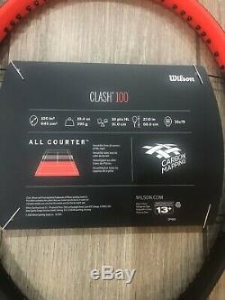 Wilson Clash 100 Tennis Racket Grip 4 1/4 Brand New