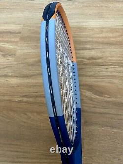 Wilson Clash 100 Tennis Racket Roland Garros Racquet 4 1/4 Grip