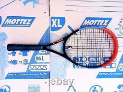 Wilson Clash 100 Tennis Racket with case. Black/Grey/Orange. 3 4 3/8 grip