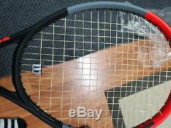 Wilson Clash 100 Tennis Racquet V1.0 4 3/8 Excellent condition+ Extras