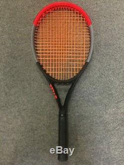 Wilson Clash 100 Tour STRUNG 4 3/8 (Tennis Racket Racquet 10.9 oz 310g 16x19)