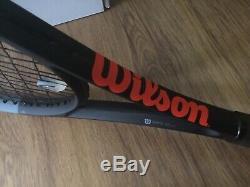 Wilson Clash 98 Tennis Racket Black, Grip 2/L2 Babolat String
