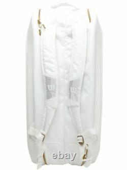 Wilson Federer Tennis Racket Backpack DNA 12 Pack Infrared WR8004401001 WH