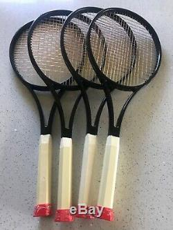 Wilson H19 18x20 L3 Pro Stock Tennis Racquet Glossy Blacked Out Paint Job