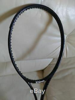Wilson H19 Pro Stock (18x20) tennis racquet in Blade 93 paint job racket