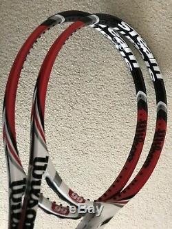 Wilson H22 16x19 Pro Stock Racket Steam 99 Tennis Racquet