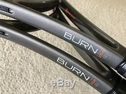 Wilson H22 18x20 L3 Pro Stock Tennis Racquet CV Burn 100 Paint Job Racket