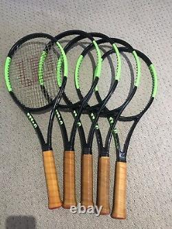 Wilson H22 High Gloss Countervail 98 Paintjob (16x19) Prostock Tennis Racquet L4