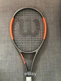 Wilson H22 pro stock 18x20 l3 wta atp pro tour tennis racket schläger burn