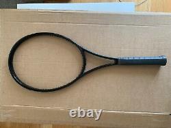 Wilson H22 tennis racket 18 x 20 gloss black. L3. 4 3/8