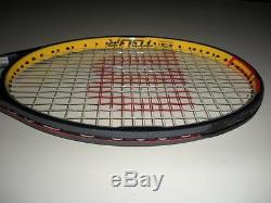 Wilson Hyper Pro Staff 6.0 Mp 95 Tennis Racquet 4 3/8 / Hyper Carbon Paint Job