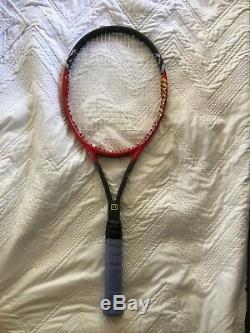Wilson Hyper Pro Staff Carbon 6.1 95 MID Plus Strech Tennis Racquet 4 5/8 Grip