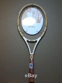 Wilson Jack Kramer Autograph Millennium Edition Tennis Racket 4-1/2 Rare #3000