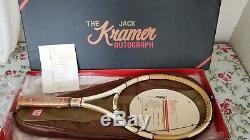 Wilson Jack Kramer Autograph Millennium Edition Tennis Racquet #1847/2000