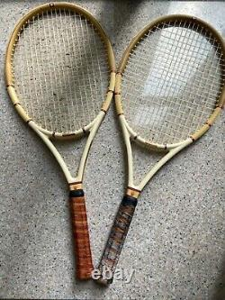Wilson Jack Kramer Autograph Millennium Limited Edition Tennis Rackets (Two)