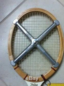 Wilson Jack Kramer Autograph Wood Strung Tennis Racket 4-5/8 New Rare Free Ship