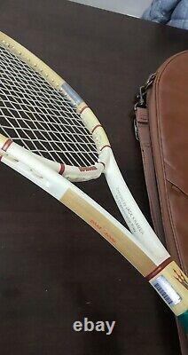 Wilson Jack Kramer Millenium autograph 95 head 4 3/8 grip Tennis Racquet