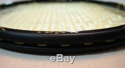 Wilson K Factor Gold Ltd Edition Black #622 Serena Williams Blade Mint 9.5//10