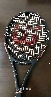 Wilson K Factor Sampras K 88 head midsize 4 1/2 grip GREAT SHAPE Tennis Racquet