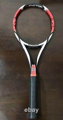 Wilson K Factor Six-One Tour 90 Federer GREAT CONDITION 4 1/2grip Tennis Racquet