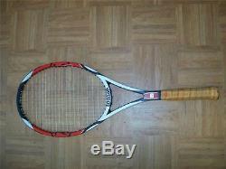 Wilson K Factor Six-One Tour 90 head Roger Federer 4 1/4 grip Tennis Racquet