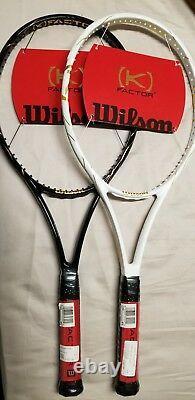 Wilson K factor Golden Slam LTD VENUS SERENA WILLIAMS 22k Gold pair