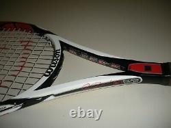 Wilson K-factor Six. One Tour 90 Tennis Racquet 4 1/2 (new Strings) Federer