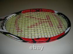 Wilson K-factor Six. One Tour 90 Tennis Racquet 4 3/8 Federer