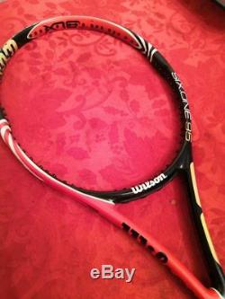 Wilson Mardy Fish Personal racket ps 6.1 95 blx 95 paintjob grip Tennis Racquet