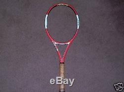Wilson N code Tennis Racket 90 4 1/2 Tennis Unstrung