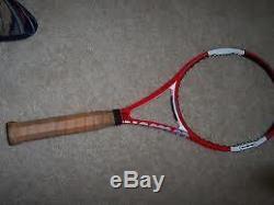 Wilson N code Tennis Racket 90 4 5/8 Tennis Unstrung