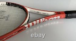 Wilson NCode Six-One 6.1 95 16X18 Tennis Racquet 4 1/4 Original Cover