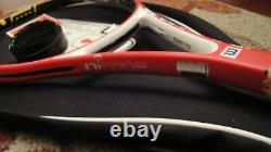 Wilson Ncode Six-One 6.1 95 Tennis Racket Raquet 4 1/4 18x20 L2