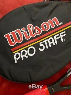 Wilson Original Pro Staff 6.0 Midsize Bumperless Saint Vincent Hrq