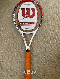 Wilson PRO STAFF 100L Roger Federer's racket in 100 Frame RRP 197£