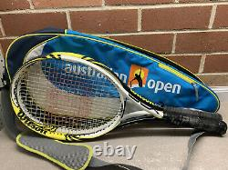 Wilson Pro Lite BLX Tennis Racket Set x2 with Australian Open Carring Bag